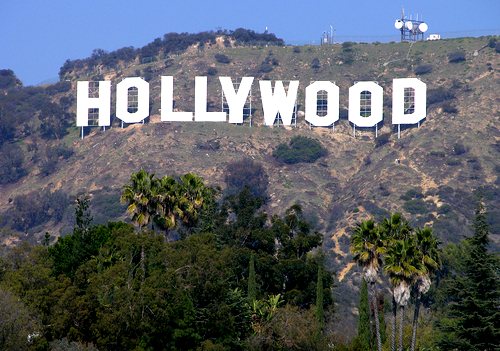 how tall are the hollywood letters stuff that weighs more than me the sign 22654