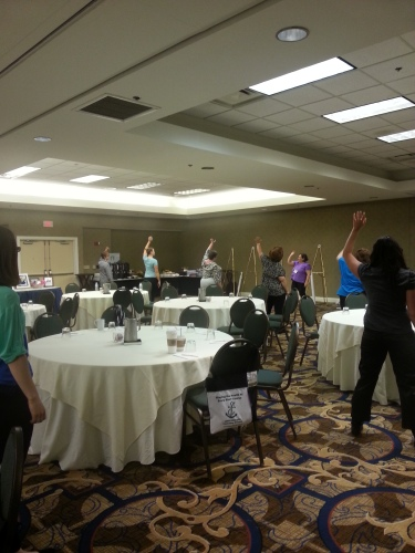 Working out at the ASDAH conference