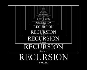 recursionrecursion